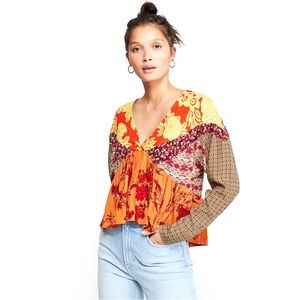 Free People 'Aloha State of Mind' Top, NWT